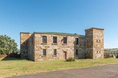 Historyczny fort Durnford w Estcourt słuzyć jako muzeum Obraz Royalty Free