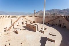 Historyczny fort Nizwa, Oman Obraz Royalty Free
