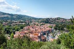 Historyczny Francuski miasteczko Fotografia Royalty Free