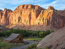 Historyczny Fruita okręg, Utah fotografia stock