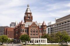 Historyczny gmach sądu w Dallas, usa obrazy stock