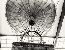 Historyczny gorące powietrze balon, Krajowy techniczny muzeum w Praga, C Zdjęcia Stock