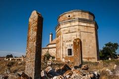 Historyczny grobowiec od Osmańskiej ery Obrazy Royalty Free