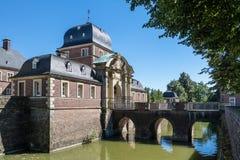 Historyczny Grodowy Ahaus w Westphalia, Niemcy Zdjęcie Royalty Free