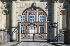 Historyczny Grodowy Ahaus w Westphalia, Niemcy Obrazy Royalty Free
