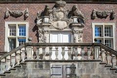 Historyczny Grodowy Ahaus w Westphalia, Niemcy Zdjęcia Royalty Free