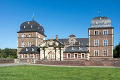 Historyczny Grodowy Ahaus w Westphalia, Niemcy Zdjęcie Stock