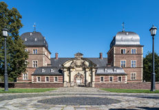Historyczny Grodowy Ahaus w Westphalia, Niemcy Obraz Stock