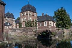 Historyczny Grodowy Ahaus w Westphalia, Niemcy Fotografia Stock
