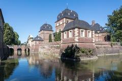 Historyczny Grodowy Ahaus w Westphalia, Niemcy Fotografia Royalty Free