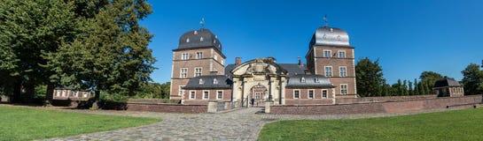 Historyczny Grodowy Ahaus w Westphalia, Niemcy Zdjęcia Stock