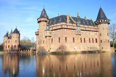 Historyczny Grodowy De Haar holandie obrazy stock