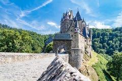 Historyczny grodowy Eltz w Eifel Zdjęcia Royalty Free