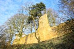 Historyczny Grodowy Ravensberg w Borgholzhausen, Westphalia, Niemcy obrazy royalty free