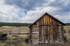 Historyczny Hornbeck farmy Kolorado rancho gospodarstwo rolne Obrazy Stock