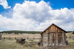 Historyczny Hornbeck farmy Kolorado rancho gospodarstwo rolne Zdjęcia Royalty Free