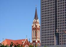 Historyczny i nowożytny budynek obrazy royalty free