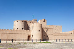 Historyczny Jabrin fort, Oman Zdjęcie Royalty Free