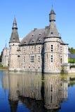 Historyczny Jehay kasztel, Belgia Fotografia Royalty Free