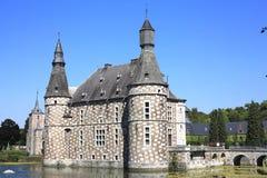 Historyczny Jehay kasztel, Belgia Zdjęcia Stock