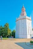 Historyczny kaczki wierza St Sergius Lavra Obraz Royalty Free