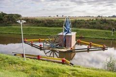 Historyczny kanałowy pobliski Elbląski Jeleń rampa Obrazy Royalty Free