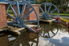 Historyczny kanałowy pobliski Elbląski Jeleń rampa Fotografia Royalty Free