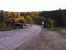 Historyczny Kiskatinaw most Zdjęcia Royalty Free