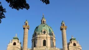 Historyczny kościół StCharles zdjęcie royalty free