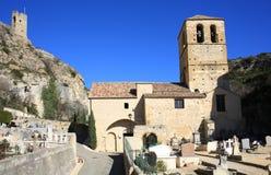 Historyczny kościół w drÃ'me, Południowy Francja Fotografia Stock