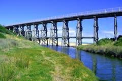 Sztachetowy most Zdjęcie Royalty Free