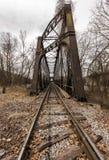 Historyczny linia kolejowa most - Pennsylwania Zdjęcie Stock