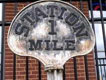 Historyczny linii kolejowej muzeum w Jackson &, Tennessee zdjęcia stock