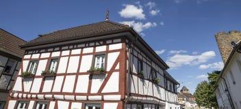Historyczny miasta ahrweiler w Germany Fotografia Stock