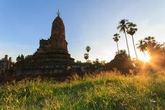 Historyczny miasteczko Sukhothai Obrazy Royalty Free