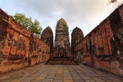 Historyczny miasteczko Sukhothai fotografia royalty free