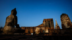 Historyczny miasto Ayutthaya Fotografia Royalty Free