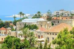 Historyczny miasto Byblos, Liban Fotografia Stock