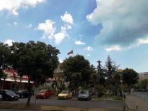 Historyczny miasto Europe w Bułgaria Pomorie Zdjęcie Stock