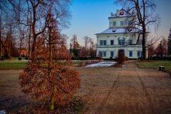 Historyczny miasto park fotografia royalty free