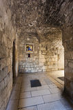 Historyczny miasto rozłam, Diocletian pałac, rozłam Zdjęcie Royalty Free