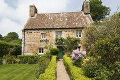 Historyczny mieszkaniowy dom, bydło, UK Zdjęcie Stock