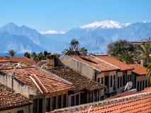 Historyczny okręg w Antalya obrazy royalty free