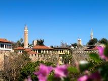 Historyczny okręg w Antalya obrazy stock