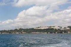 Historyczny półwysep Istanbuł, Turcja Obrazy Stock