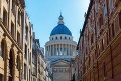 Historyczny panteon w Paryż, Francja Fotografia Stock