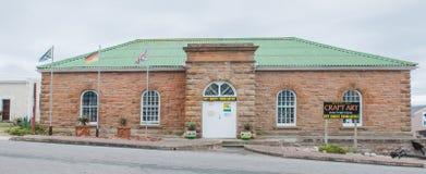 Historyczny piaskowcowy budynek w Mosselbay Obrazy Stock