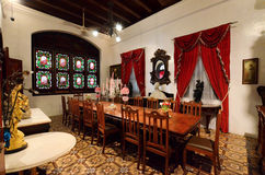 Historyczny Pinang Peranakan dwór w Georgetown, Penang Obrazy Stock