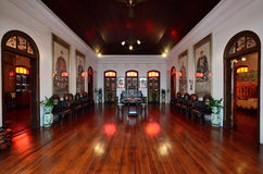 Historyczny Pinang Peranakan dwór w Georgetown, Penang Fotografia Royalty Free