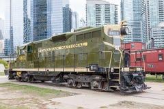 Historyczny pociąg w Toronto, Kanada Obraz Royalty Free